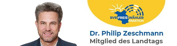 Dr. Philip Zeschmann - Ihr Landtagsabgeordneter